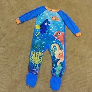 Dory footie pajamas